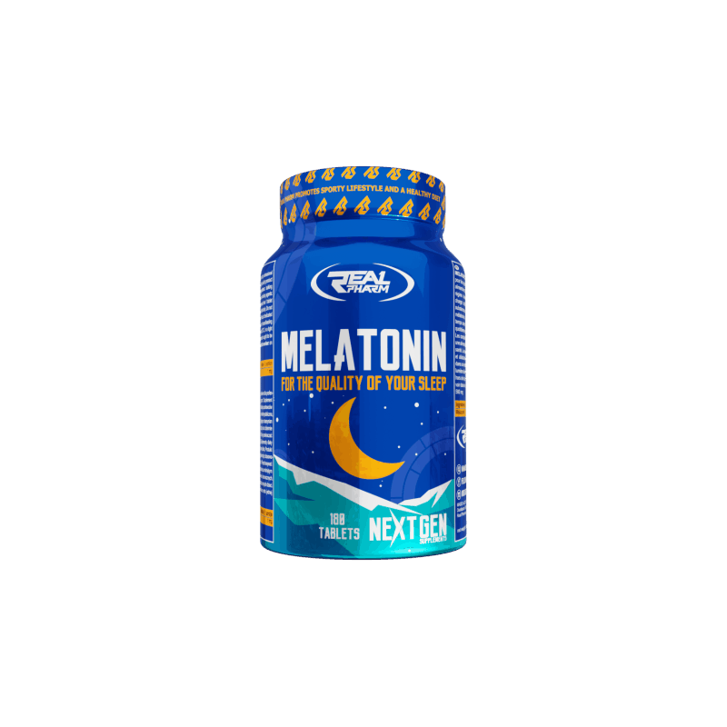 Melatonine 180tabl Real Pharm Bien dormir